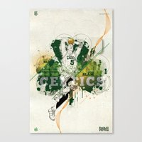 Kevin Garnett Tribute Canvas Print