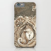 iPhone & iPod Case featuring The Fox and the Sea by Jess Polanshek