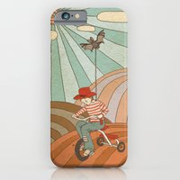 iPhone & iPod Case featuring Rainbow by ValD