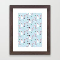 Frosty The Snowman Framed Art Print