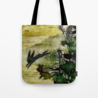 The Black Rabbit Tote Bag
