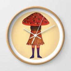The Mushroom Princess Wall Clock