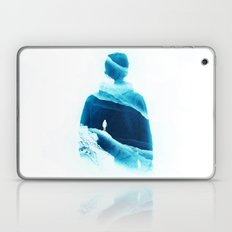 Love Isolation In Teal Laptop & iPad Skin