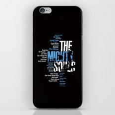 The Mighty Souls: Jazz Legends iPhone & iPod Skin
