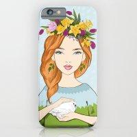 Spring Girl iPhone 6 Slim Case