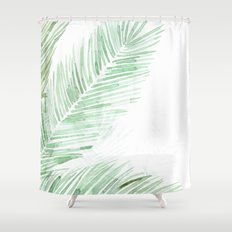 Framed garden 02 Shower Curtain
