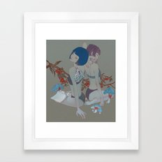 Garden #2 Framed Art Print