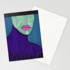 All About the Lips 11 Stationery Cards