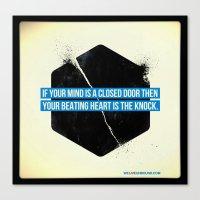 Endless Knock Canvas Print