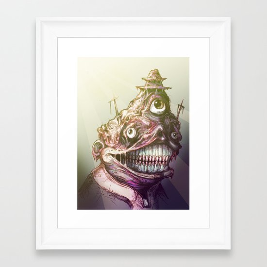 """Holy One"" Framed Art Print"