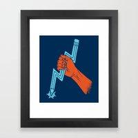 Graphite For Your Right Framed Art Print