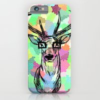 iPhone & iPod Case featuring Deer are people too by Mercedes Lopez