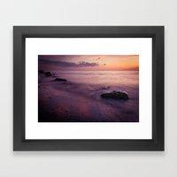 a piece of paradise Framed Art Print