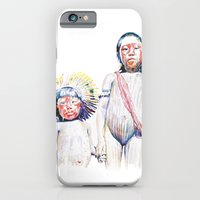iPhone & iPod Case featuring maasai by Cristian Blanxer