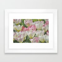 Tulpen Framed Art Print