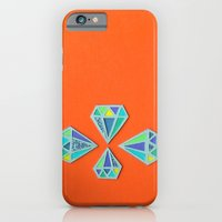 Diamonds Papercut iPhone 6 Slim Case