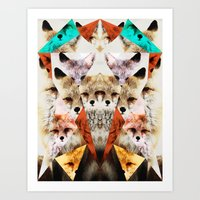 WHAT THE FOX SAY Art Print
