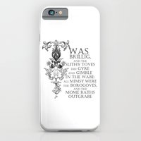 Alice In Wonderland Jabberwocky Poem iPhone 6 Slim Case