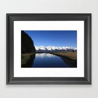 Tonsina Creek Framed Art Print