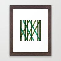 #423 MMXII – Geometry Daily Framed Art Print