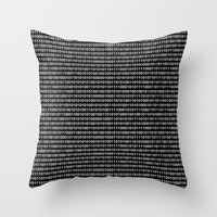 The Binary Code DOS Vers… Throw Pillow