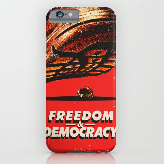 Freedom and Democracy iPhone & iPod Case