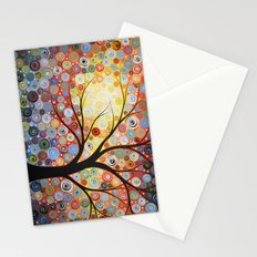 Celestial Sunset Stationery Cards