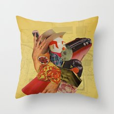 The Most Polite Restraint Throw Pillow