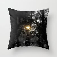 Wolf Your Time Approache… Throw Pillow