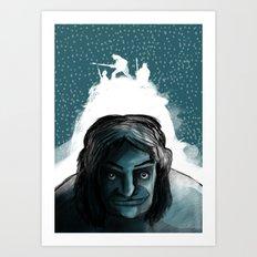 The Iceman Cometh Art Print
