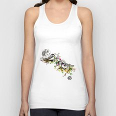 Two Birds Unisex Tank Top