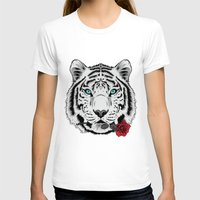 rose T-shirts featuring Rose by Roland Banrevi