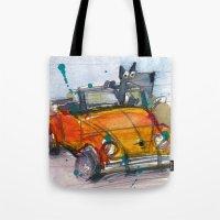 Scottish Terrier Driving… Tote Bag