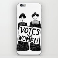 Votes For Women iPhone & iPod Skin