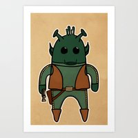 Greedo Art Print