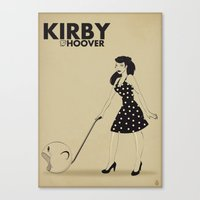 Kirby Hoover Canvas Print