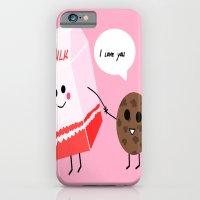 Milk and cookie love  iPhone 6 Slim Case