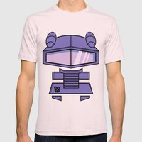 Transformers - Shockwave Mens Fitted Tee Light Pink SMALL