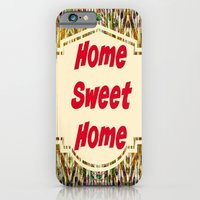 Stained Glass Home Sweet Home  iPhone 6 Slim Case