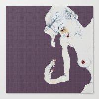 Chica Gasa Canvas Print