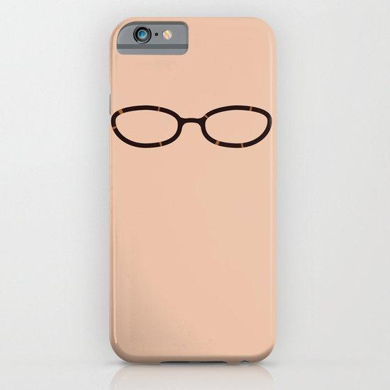 Liz Lemon Glasses iPhone & iPod Case
