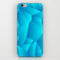 Mountain Grid Gradient iPhone & iPod Skin