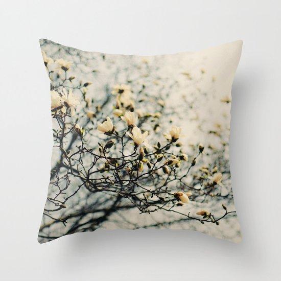 Honey Scented Breeze Throw Pillow