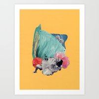 Your Cheeks Are Flush Li… Art Print