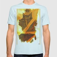 Ms Marvel Mens Fitted Tee Light Blue SMALL
