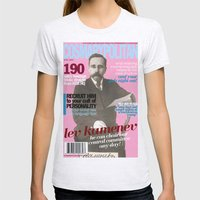 COSMARXPOLITAN, Issue 11 Womens Fitted Tee Ash Grey SMALL