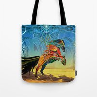 The Wind Of Time (Red Ho… Tote Bag