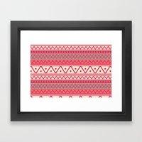I Heart Patterns #018 Framed Art Print