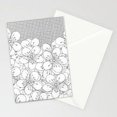 Cherry Blossom Grid - In Memory of Mackenzie Stationery Cards