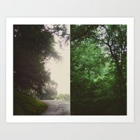 The Forest - Scene Two Art Print